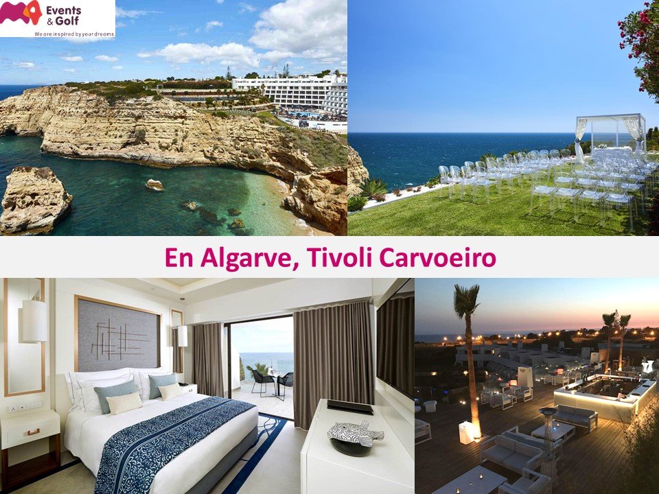 En Algarve, rénovation totale du Tivoli Carvoeiro 5*