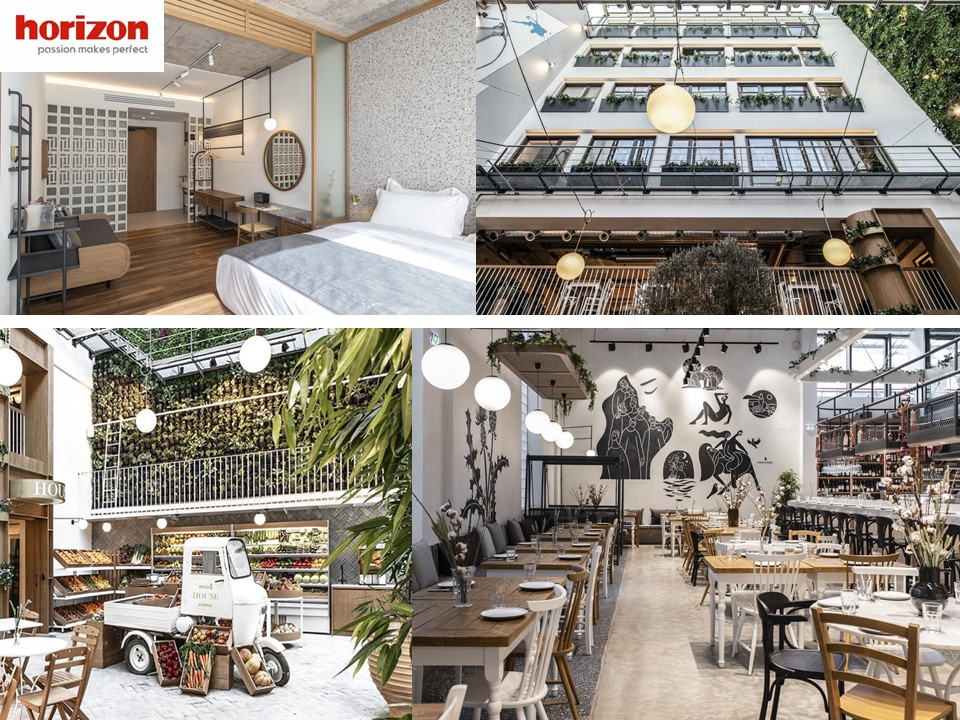 Foodie Hôtel «Eat, Sleep, Repeat»